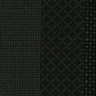 kts6355 紬大島小紋